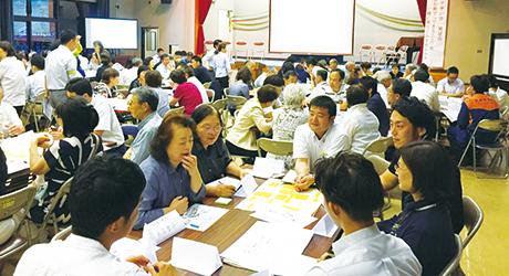 平成29年6月に行われた地域・多職種連携会の発足会