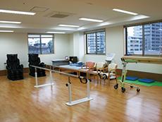自由に利用できる機能訓練室(無料)