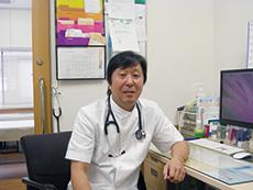 前田内科医院の前田院長が皆さまの健康をサポート