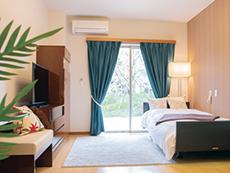 併設のデイサービスには人気のリハビリ専用設備を完備