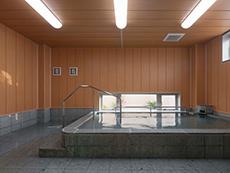 デイサービスの設備である大浴場