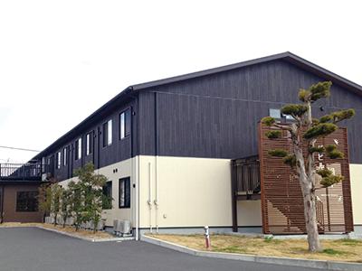 温かみのある木造建築