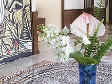 夫婦2人部屋には4.5帖の広い和室があります