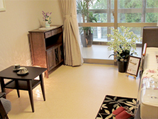 広めの居室は自宅のようにくつろげる空間