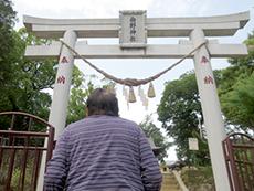 お散歩できる距離の曲野神社で初もうでも