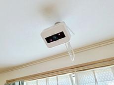 ペット可居室に面する中庭があり、足洗い場も完備
