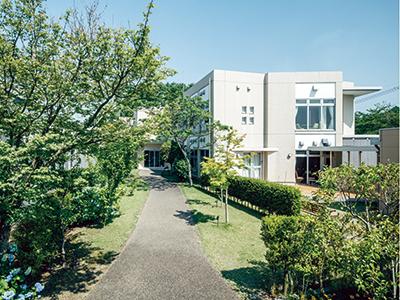 病院に直結した建物で、安心して暮らせるホーム
