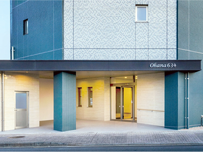 お店や病院等が並ぶ武蔵大通りに面し、便利な立地(画像は完成イメージ)
